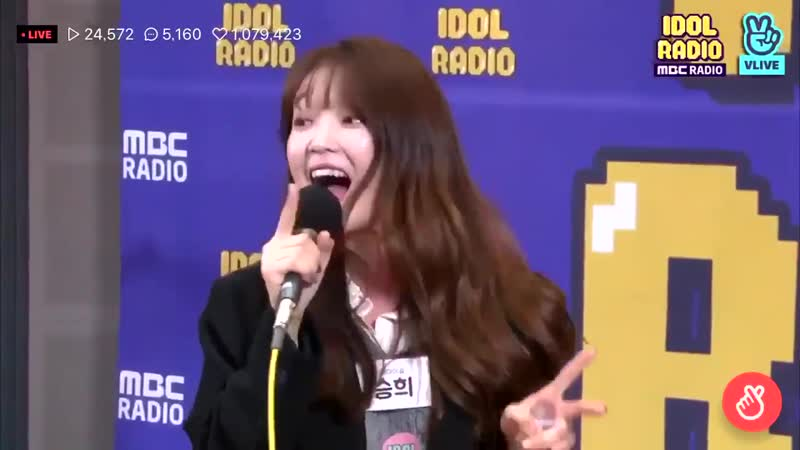 181107 Oh My Girl's Seunghee singing Seungri 1 2 3 on MBC Idol Radio