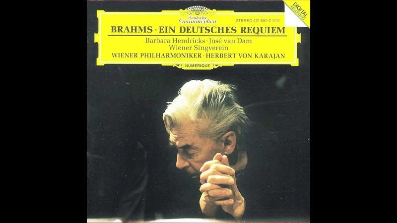 Brahms: Ein Deutsches Requiem conducted by Karajan