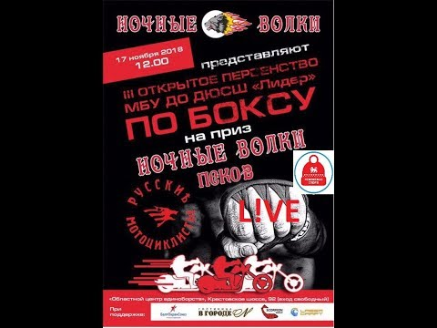 Первенство Пскова по боксу на призы Ночных Волков 17.11.2018