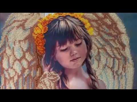 Тэла Артис Маленький ангел от обзора до оформления Вышивка бисером