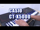 CASIO CT X5000 Demo Review