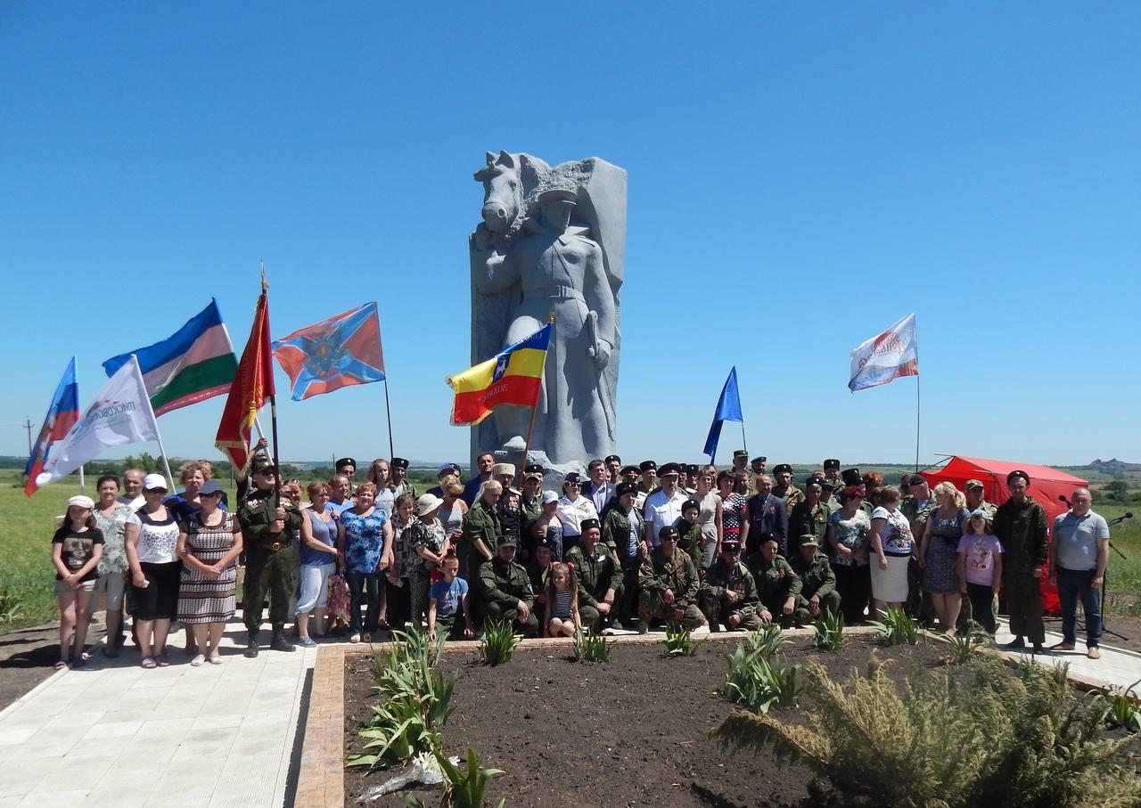Казаки о общественность провели в Чернухино митинг памяти начала Великой Отечественной войны