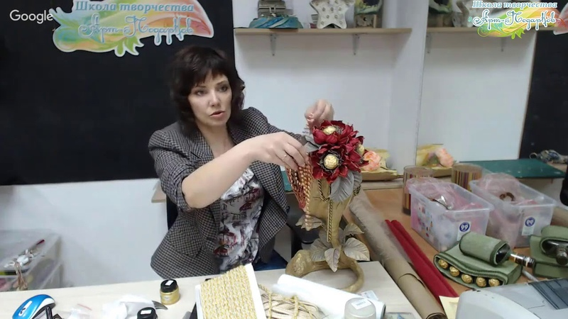 Презентация мастер-класса «Дерево-сердце», декор, свит-дизайн. Мастер Наталья Дроздова.