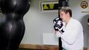 Боксерский мешок Бойко Спорт силуэт №2 из ременной кожи