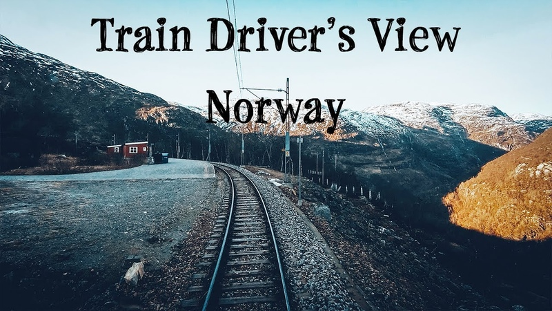 Train Driver's View: Lets build the train and go from Flåm to Myrdal