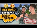 Keyword Research for Merch By Amazon: Easy Free Method to Find Best Selling T-Shirt Designs