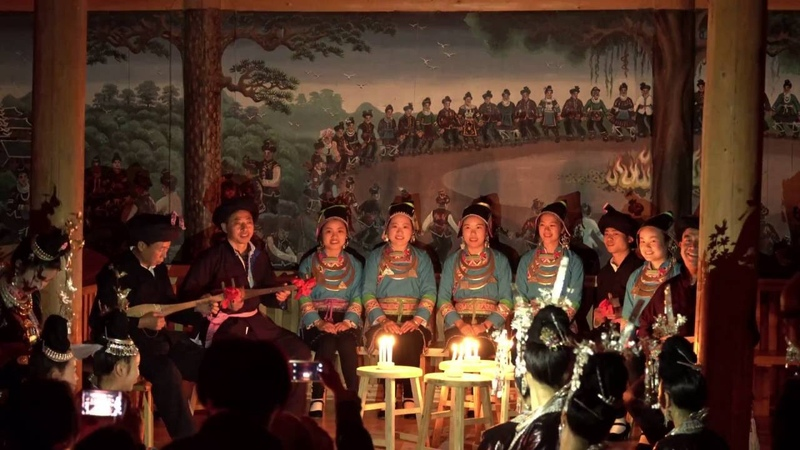 Ethnic Kam(Dong) people love song - Polyphonic choir
