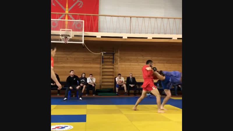 Финал Чемпионата России по боевому самбо