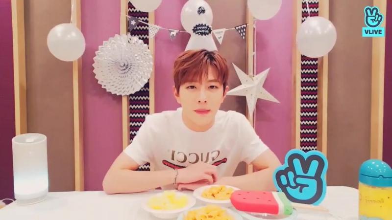 Kim Sunggyu, Sunggyu hyung again Choi Bomin did that! This boy's love towards his gyu hyung LOL - Happy Birthday to Cutie maknae
