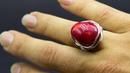 Пошаговый мастер класс кольцо с камнем из проволоки своими руками