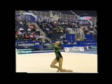 Alina KABAEVA (RUS) hoop - 2000 World Cup final