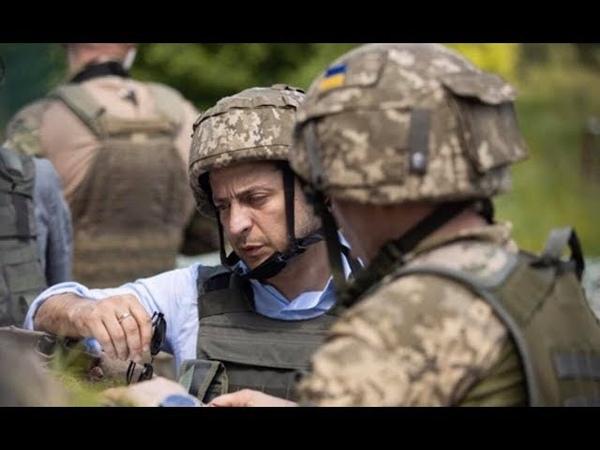 Зеленський здійснив першу робочу поїздку на Донбас НАШІ новини від 08 00 28 05 19