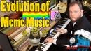 Evolution of Meme Music 1500 AD 2018