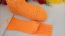 İki şişle dikişsiz çorap patik yapımı /iki şiş patik modelleri