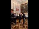 Открытие выставки Имперские столицы Санкт Петербург Вена Шедевры музейных коллекций в Эрмитаже