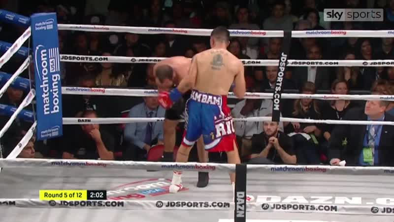 [1920x1080] Brandon Rios beats Ramon Alvarez in nine and Nico Hernandez moves to 6-0 Boxing News Sky Sports