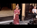 EXCLUSIVE : Amber Heard on her way to 2018 Valentino Haute Couture show in Paris
