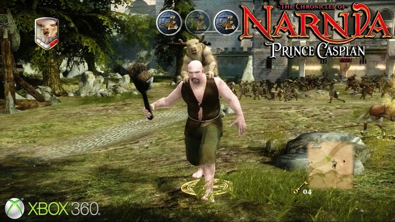 The Chronicles of Narnia: Prince Caspian - Xbox 360 / Ps3 Gameplay (2008)