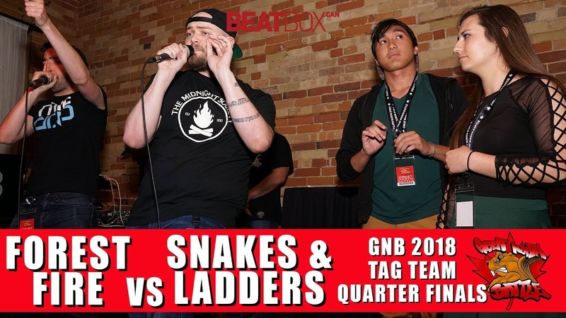 Forest Fire vs Snakes Ladders GNB 2018 Tag Team Quarter Finals смотреть онлайн без регистрации