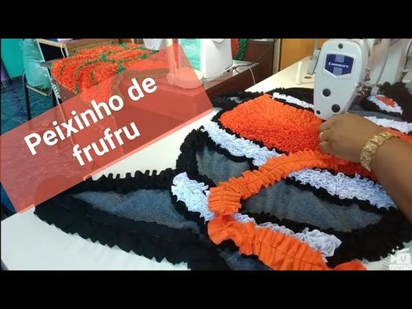 🐠🐟 ENSINANDO TAPETE DE FORMATO DE PEIXINHO DE FRUFRU 🐠🐟