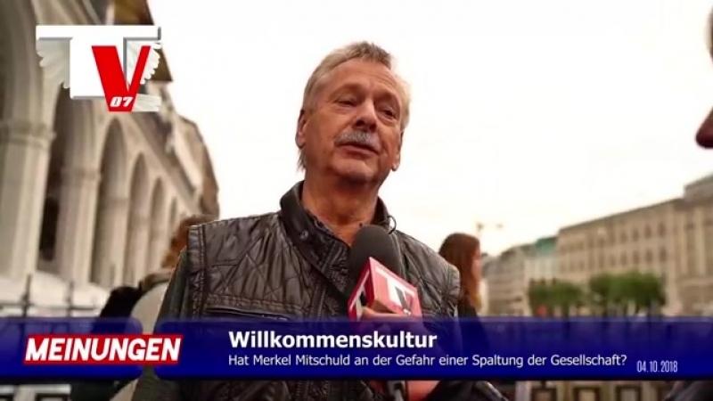 LEHRER- -Merkel hat Spaltung der Gesellschaft selbst herbei geführt-