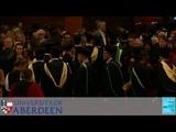 University of Aberdeen Winter Graduations 2018, Thursday 22nd November 3pm