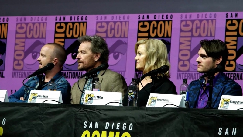 Breaking Bad - Full Panel SDCC July 19, 2018 - Bryan Cranston and Aaron Paul