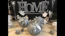 Переделка декоративной тыквы🎀modification of the decorative pumpkins