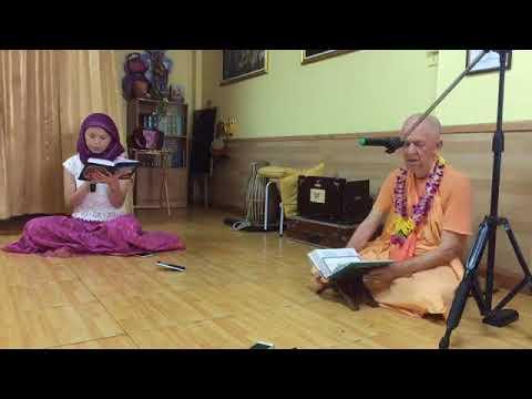 BVV Narasimha Swami, SB 4.2.17-18 Bangkok, 10.07.2018 (Another Angle)
