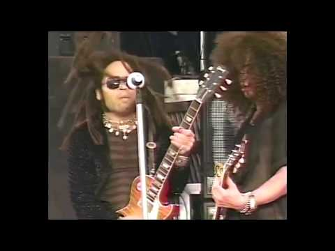 Guns N' Roses (with Lenny Kravitz) - Always on the Run (Live in Paris 1992) (60fps)