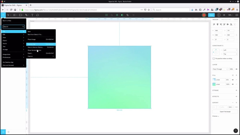 Using Figma for SVG Design SVG Exporting and Copying Options