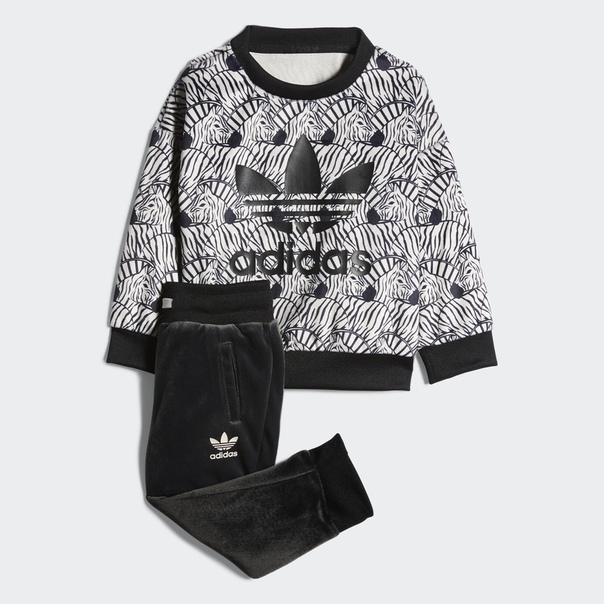 Комплект: джемпер и брюки Zebra