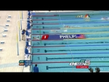 Michael Phelps World Record! 1st Gold 2008 Beijing Olympics Swimming 400m