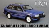 Subaru Leone 1800 Turbo DNA Collectibles Обзор масштабной модели 143 от нового производителя