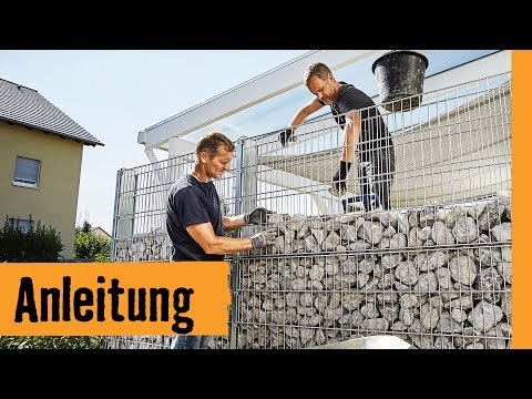 Gabione selber bauen | HORNBACH Meisterschmiede