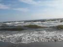 Прибой-1 на пляже Инагэ-кайган, Чиба, Япония