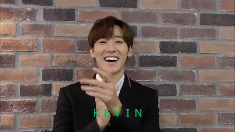 Kevin - KpopStar Japan Message (28.11.18)