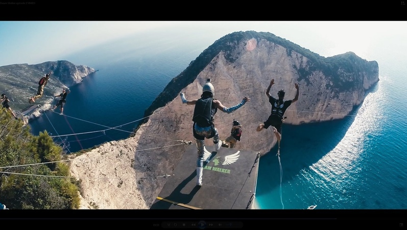 DREAM WALKER III Zakynthos Rope Jumping no limit expedition