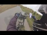 Yamaha jog Stunt and crash