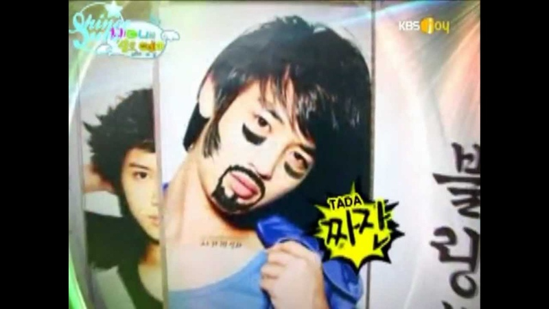 [Eng] Onew and Jonghyun doodling on Minho during Hello Baby - CUT