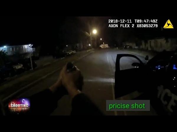 Полицейский стреляет в безоружного. Коко-бич штат Флорида.