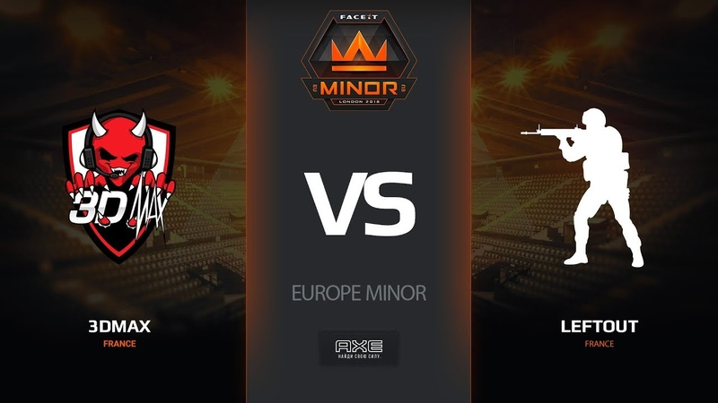 3DMAX vs LeftOut, map 3 cache, Europe Minor – FACEIT Major 2018