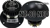 Твитер Dynamic State NT-80 NEO Series в двухполоске. Сравнение с рупорами. Отзыв о звучании