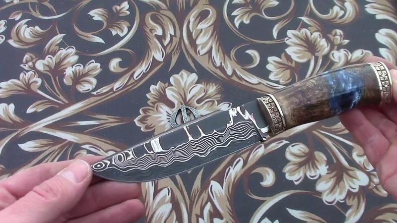 Нож с макумэ Озеро МФ