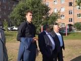 Глава г. Дивногорска осмотрел объекты благоустройства.