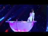 Water contortion - Cabaret Show on TV