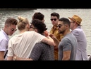 EXCLUSIVE Joe Jonas, Nick Jonas, Sophie Turner and Priyanka Chopra having a boat trip on the River