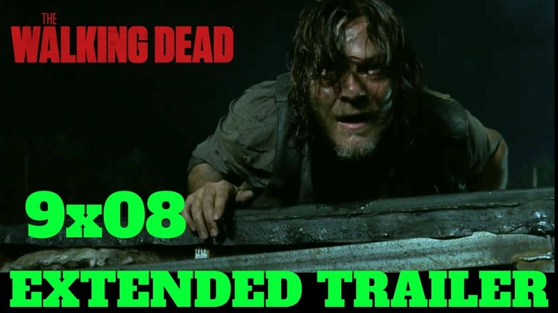 The Walking Dead 9x08 EXTENDED TRAILER Season 9 Episode 8 Promo/Preview HD Evolution TWD S09E08