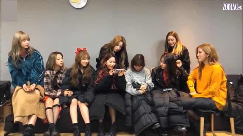 WJSN Cosmic Girls Последний день 2018 года 31 12 2018