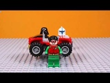 Lego toy aliens use the technology of the universe to make cars, and there is no rival!
